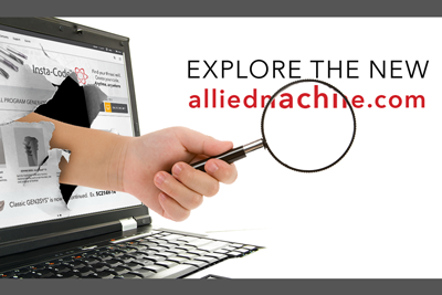 Allied Machine Launches Online Tool Drawing Software, Content-Rich Website