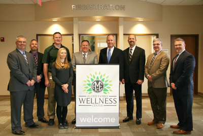 Allied Invests in Associates' Health with Opening of Wellness Center